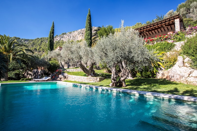 Finca Son Salas-Soller swimming pool